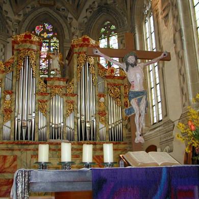 Chor der Peter- und Paulskirche Mössingen