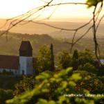 Blick auf Talheim mit der Bergkirche im Frühjahr 2020 (Foto: Helen Kiefer)