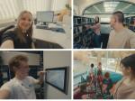 Vorschau verschiedener Ausbildungsberufe bei der Stadt Mössingen für einen Imagefilm