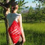 In den Mössinger Streuobstwiesen untwegs mit dem Picknicksäckle