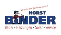 Horst Binder  Bäder. Heizungen. Solar. Service