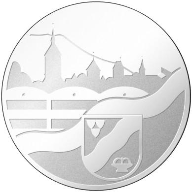 Motiv der Ehrennadel für die Mössinger Bürgerehrung
