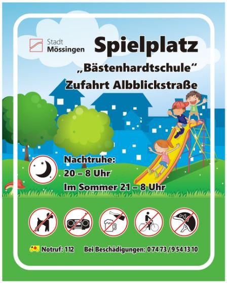 Schild Bästenhardtschule