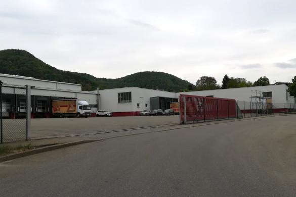"""Gebäude im Gewerbegebiet """"Hinterer Rietsweg"""" in Mössingen-Talheim"""