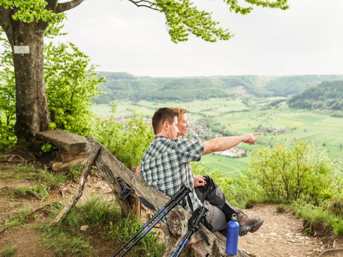 Aussichtsreich - wandern und radfahren rund um Mössingen