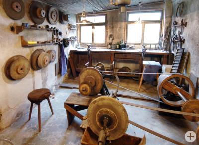 Die Werkstätten der Messerschmiede stammen aus den 1880er- bzw. 1920er-Jahren