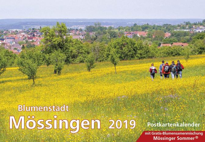 Titel des Blumenstadtkalenders 2019
