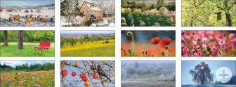 Übersicht Kalendermotive 2019