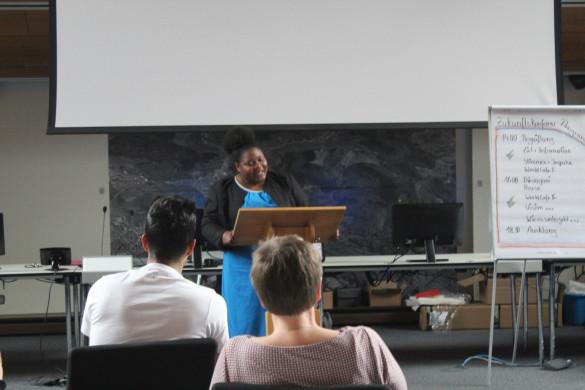 Rede von Vera Sompon