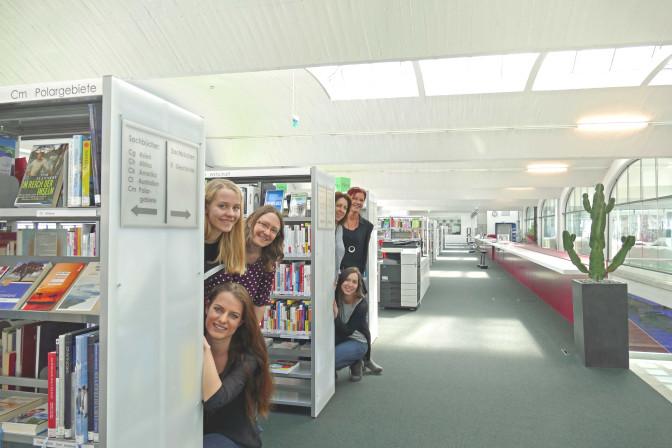 Team der Stadtbücherei Mössingen