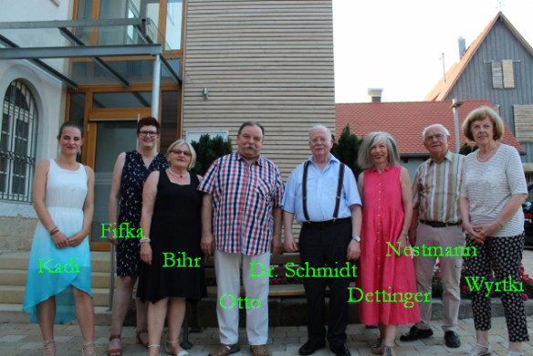 Gesamtvorstand Förderverein Stadtbücherei Mössingen (ohne Dr. Schönleber)