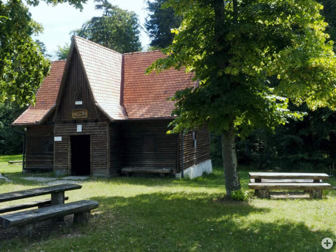 Schutzhütte auf dem Bolberg