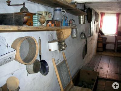 Öhrnküche im Rechenmacherhaus: Der Flur diente früher als Küche