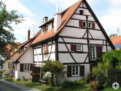 Das Rechenmacherhaus stammt aus dem Jahr 1623