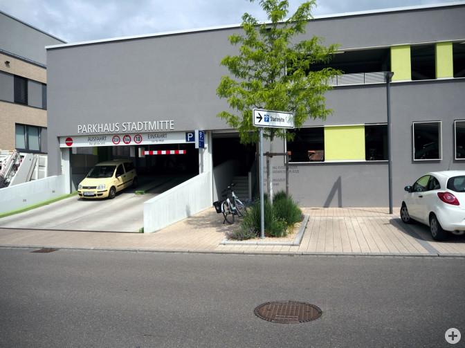Parkhaus Stadtmitte
