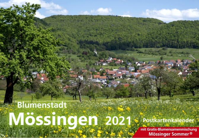 Cover Blumenstadt-Kalender 2021