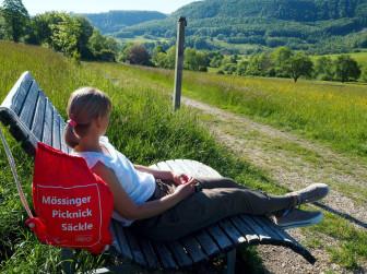 Unterwegs mit dem Mössinger Picknicksäckle