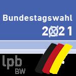 Bundestagswahl 2021 Logo der lpb BW