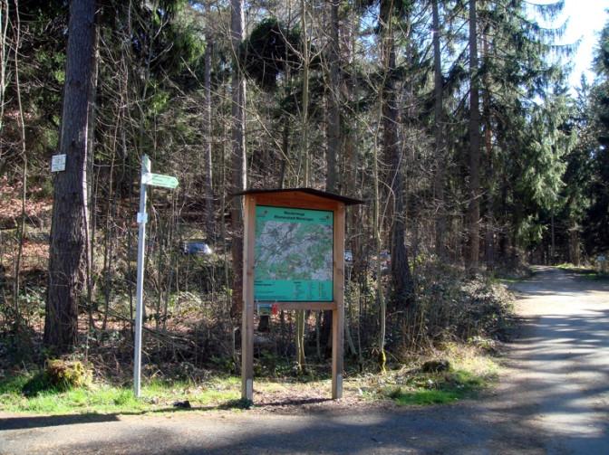 Wanderparkplatz Olgahöhe